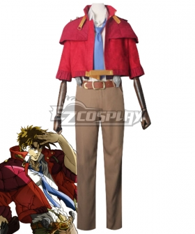 Jojo'S Bizarre Adventure: Phantom Blood Joseph Joestar Cosplay Costume