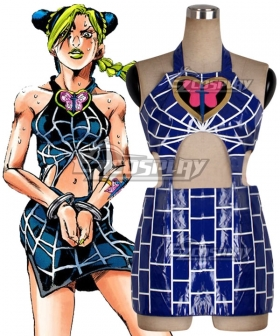 JoJo's Bizarre Adventure: Stone Ocean Jolyne Cujoh Dress Cosplay Costume