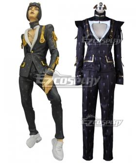 JoJo's Bizarre Adventure Vento Aureo Golden Wind Bruno Buccellati Bruno Bucciarati Cosplay Costume - Black Edition