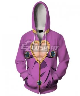 JoJo's Bizarre Adventure: Vento Aureo Golden Wind Giorno Giovanna Hoodie Cosplay Costume