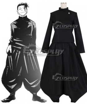 Jujutsu Kaisen Sorcery Fight Suguru Geto Black Comic Ver. Cosplay Costume