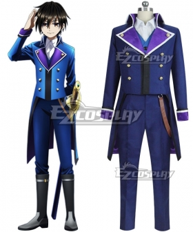 K Seven Stories Side: Blue Takeru Kusuhara Cosplay Costume