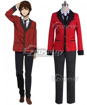 Kakegurui Compulsive Gambler Compulsive Gambler Suzui Ryouta Gambler Kaede Kaede Manyuda New Cosplay Costume