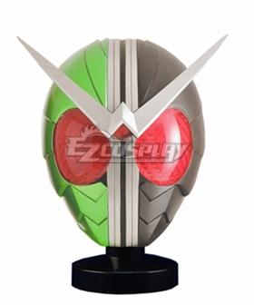 Kamen Rider W Helmet Mask Cosplay Accessory Prop