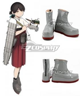 Kantai Collection Taiyou Kasuga Maru Gray Cosplay Shoes