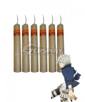 Katekyo Hitman Reborn! Gokudera Hayato Bomb Cosplay Accessory Prop