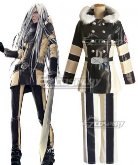 Katekyo Hitman Reborn! Superbia Squalo Cosplay Costume