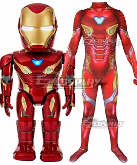Kids Size Marvel Avengers: Endgame Iron Man Ironman Tony Stark Mk50 Cosplay Costume