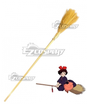 Kiki's Delivery Service Kiki Flying Broom Stick Witch Broomstick Halloween Cosplay Weapon Prop