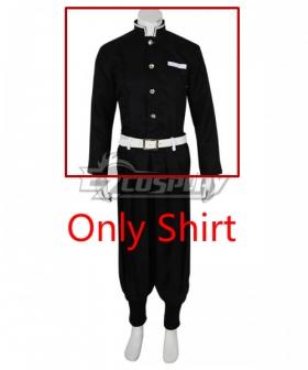 Demon Slayer: Kimetsu No Yaiba Kamado Tanjirou Cosplay Costume - Only Shirt