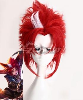 King Glory Honor of Kings Baili Xuance Red Cosplay Wig