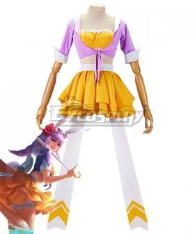 King Glory Honor of Kings Gongsun Li Orange Summer Cosplay Costume