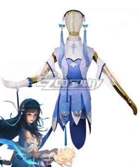 King Glory Honor of Kings Xi Shi Spirit of Illusion Cosplay Costume