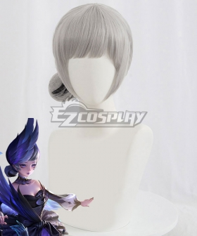 King Glory Honor of Kings Xiao Qiao Dream of Swan Black Cosplay Wig