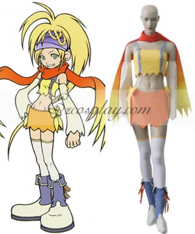 Kingdom Hearts 2 Fairy Rikku Cosplay Costume