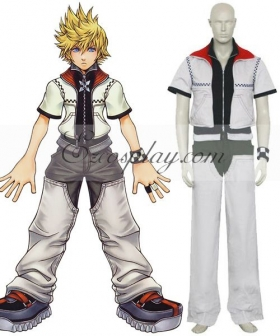 Kingdom Hearts 2 Roxas Cosplay Costume