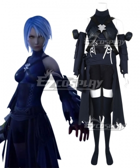 Kingdom Hearts III Aqua Cosplay Costume