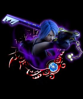 Kingdom Hearts III Aqua Key Blade Cosplay Weapon Prop