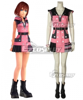 Kingdom Hearts III Kairi New Edition Cosplay Costume - A Edition