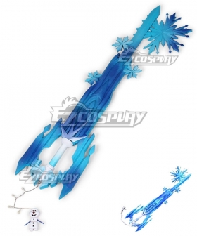Kingdom Hearts III Kingdom Hearts 3 Sora Frozen Keyblade Cosplay Weapon