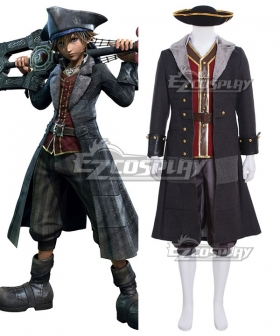 Kingdom Hearts III Pirate Sora Cosplay Costume