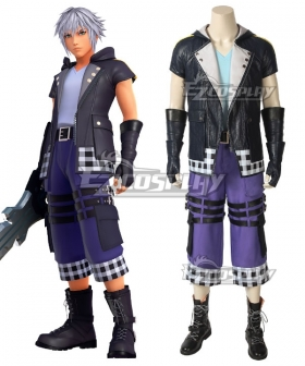 Kingdom Hearts III Riku Cosplay Costume - A Edition