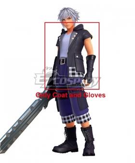 Kingdom Hearts III Riku Cosplay Costume - Only Coat and Gloves