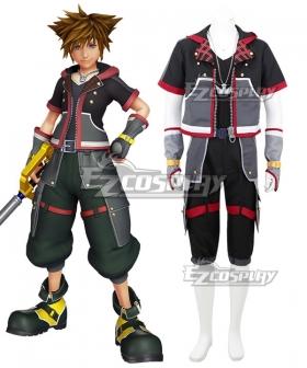 Kingdom Hearts III Sora Cosplay Costume