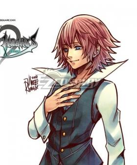 Kingdom Hearts Union X Lauriam Pink Cosplay Wig