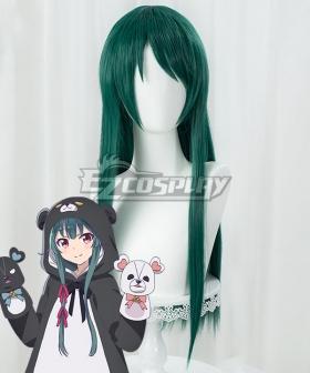 Kuma Kuma Kuma Bear Yuna Green Cosplay Wig