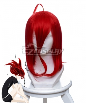 Land of the Lustrous Houseki no Kuni Cinnabar Red Cosplay Wig 456C