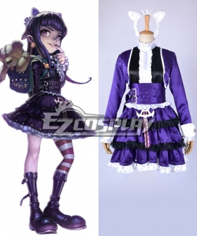 League of Legends Annie Goth Skin Cosplay Costume