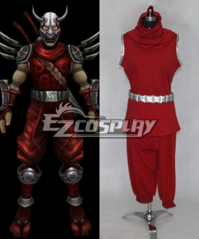 League of Legends Blood Moon Shen Cosplay Costume