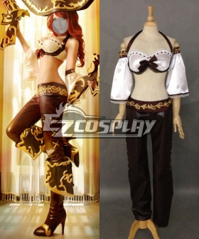 League of Legends Classic Miss Fortune Cosplay Costume