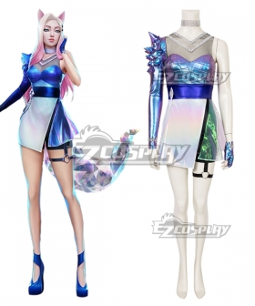 League Of Legends LOL 2020 K/DA KDA Ahri All Out Cosplay Costume