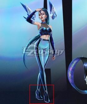 League Of Legends LOL 2020 K/DA KDA All Out Kai'sa Kaisa Black Cosplay Shoes