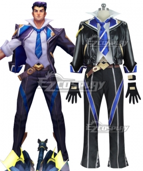 League of Legends LOL Battle Academia Jayce Cosplay Costume