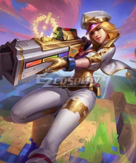 League Of Legends LOL Caitlyn Prestige Edition Skin Cosplay Costume