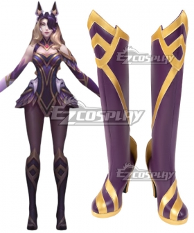 League of Legends LOL Coven Ahri Black Shoes Cosplay Boots