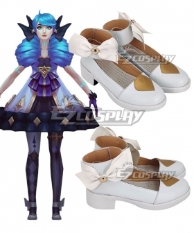 League Of Legends LOL Gwen Silver Cosplay Shoes