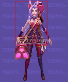 League of Legends LOL Heartseeker Jinx Purple Cosplay Wig