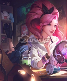 League Of Legends LOL KDA K/DA ALL OUT Seraphine Indie Cosplay Costume