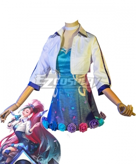 League Of Legends LOL KDA K/DA ALL OUT Seraphine Rising Star Cosplay Costume