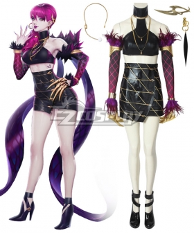 League Of Legends LOL KDA K/DA Evelynn Cosplay Costume