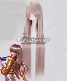 League Of Legends LOL KDA K/DA Kai'Sa Prestige Black Golden Cosplay Wig