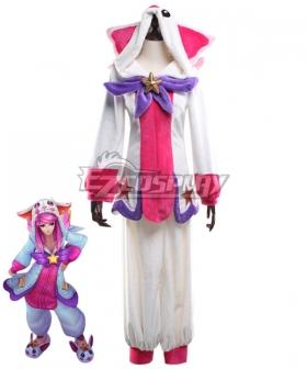 League Of Legends LOL Pajama Guardian Lux Cosplay Costume