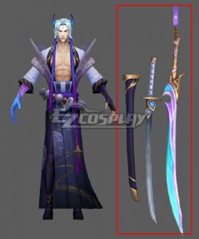 League Of Legends LOL Spirit Blossom Yone Two Sword Cosplay Weapon Prop