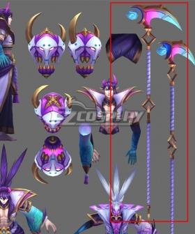 League of Legends LOL Spirit Blossom Thresh Cosplay Weapon Prop
