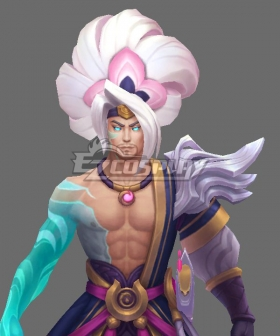 League of Legends LOL Spirit Blossom Yasuo Pink Coplay Wig