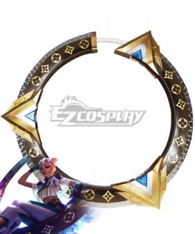 League of Legends LOL True Damage Qiyana Prestige Edition Cosplay Weapon Prop
